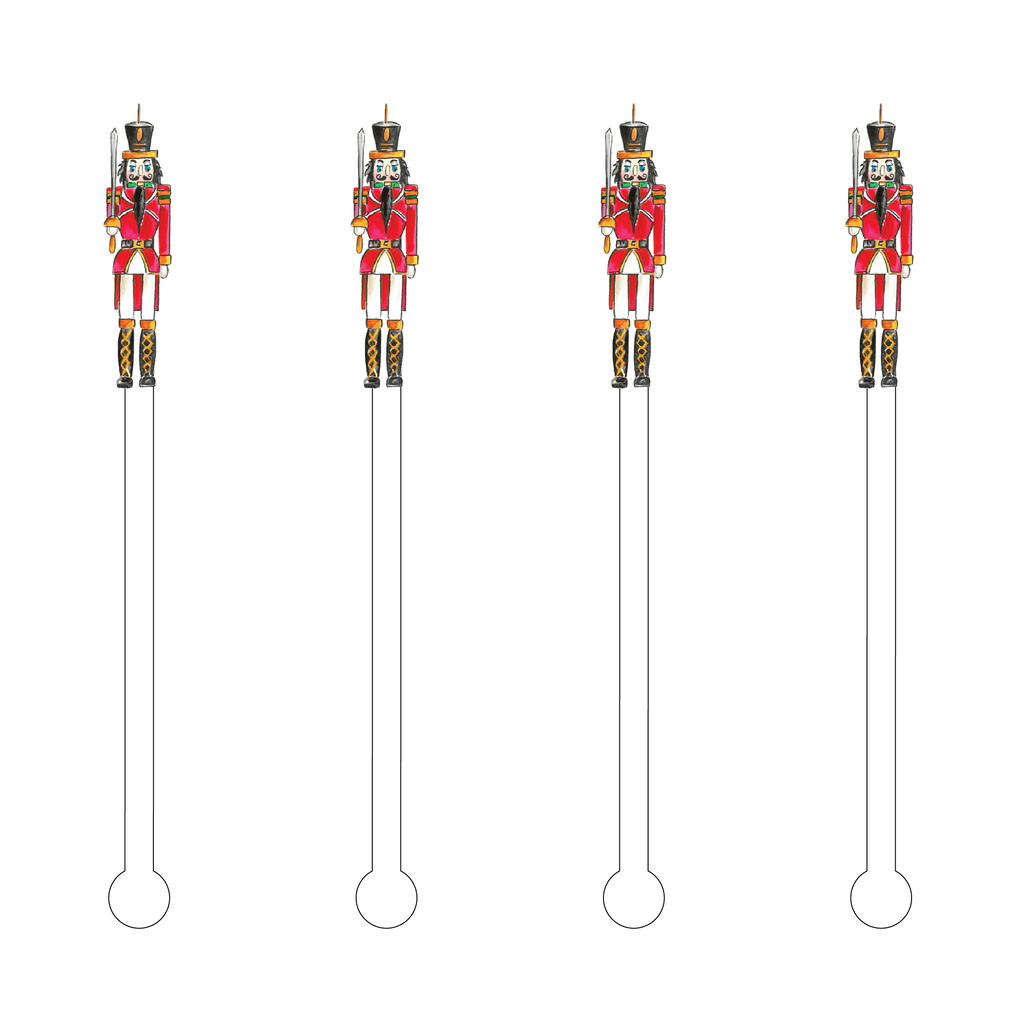 HENRY THE NUTCRACKER ACRYLIC STIR STICKS