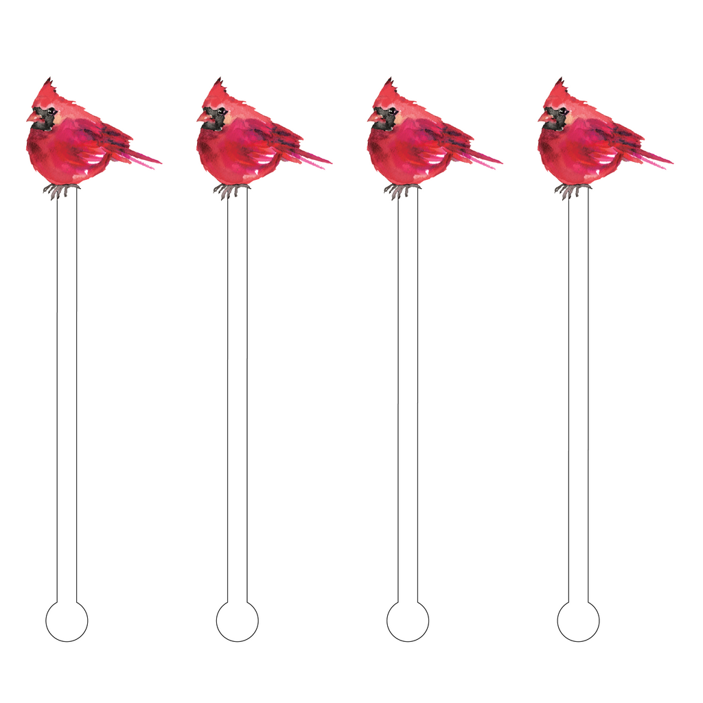 CARDINAL ACRYLIC STIR STICKS