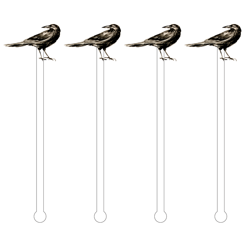 BLACK CROW ACRYLIC STIR STICKS