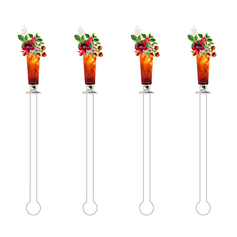 FALL ACRYLIC STIR STICKS COMBO