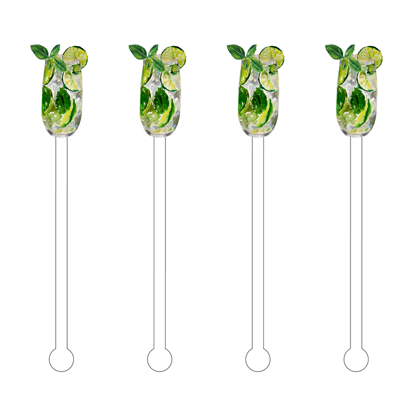 MOJITO ACRYLIC STIR STICKS