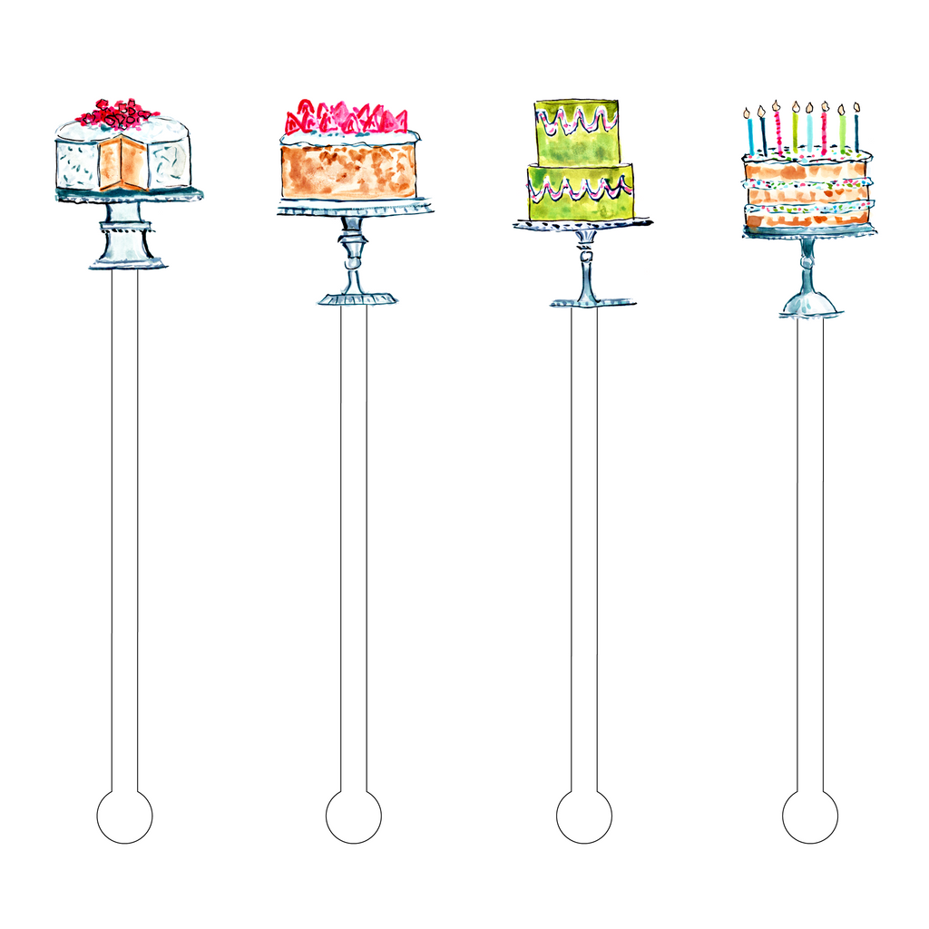 EVELYN'S CAKES ACRYLIC STIR STICKS COMBO