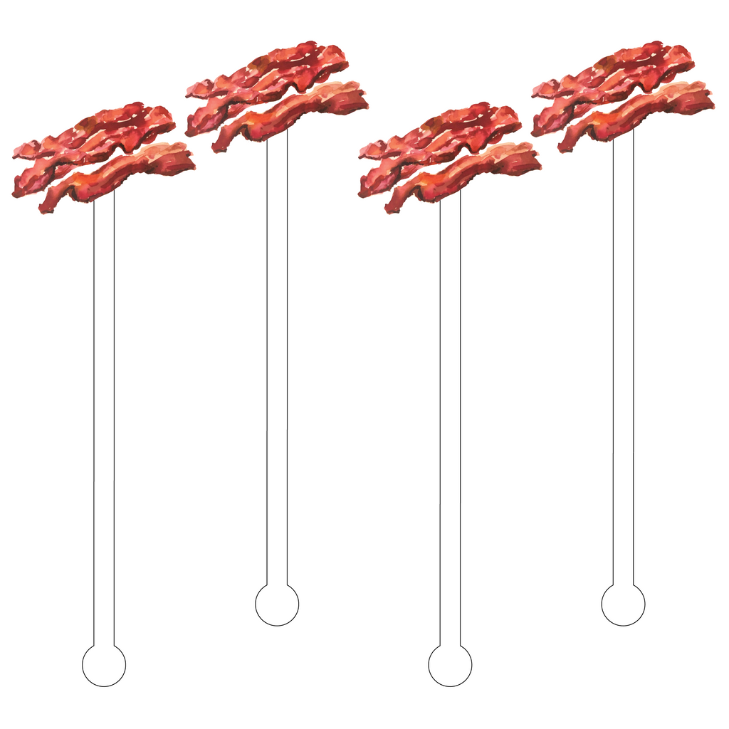 BACON ACRYLIC STIR STICKS