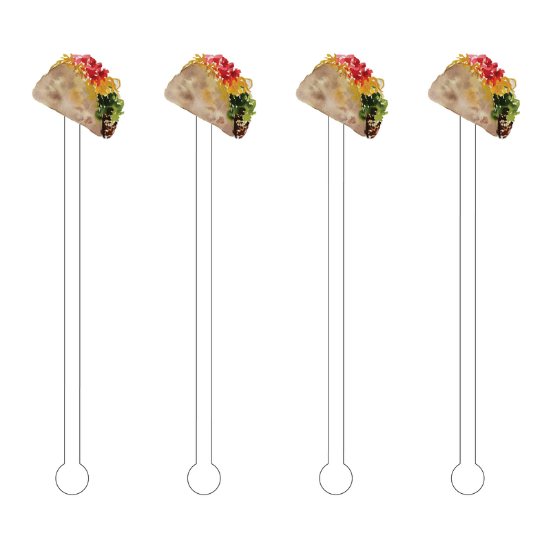 TACO ACRYLIC STIR STICKS
