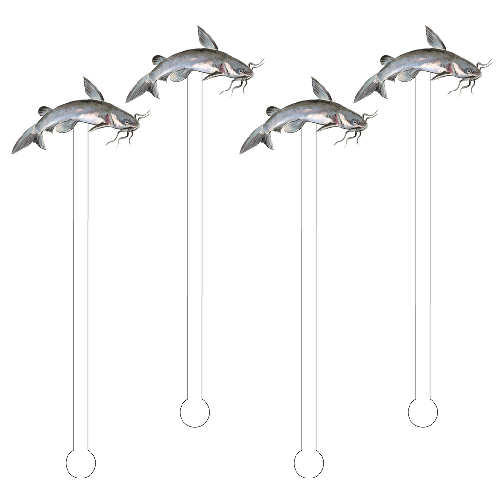 CATFISH ACRYLIC STIR STICKS