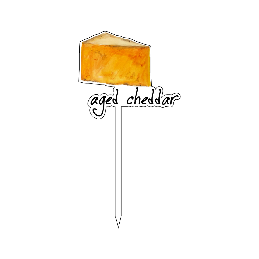 AGED CHEDDAR FROMAGE ACRYLIC STICK