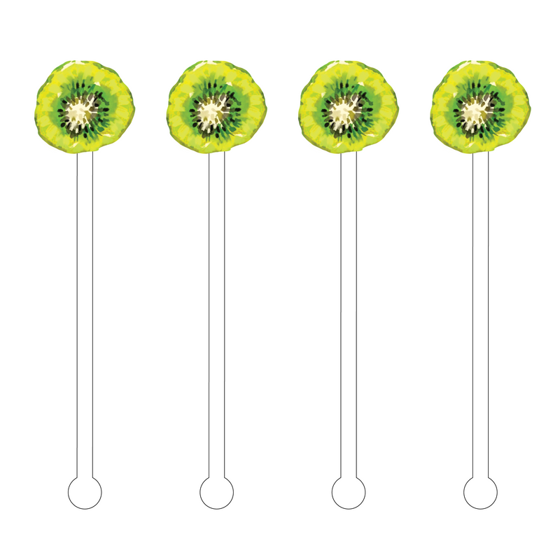 KIWI ACRYLIC STIR STICKS