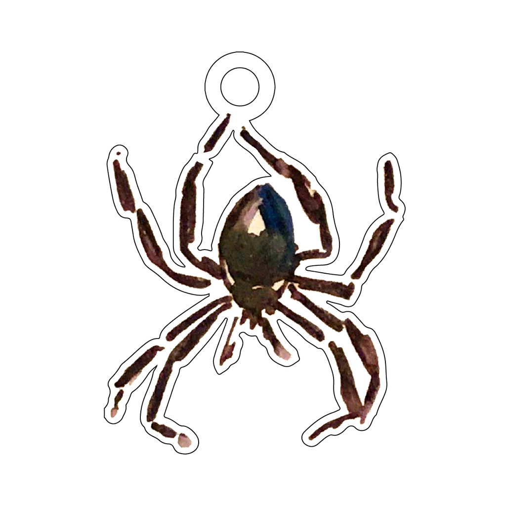 BLACK WIDOW ACRYLIC GIFT TAG*