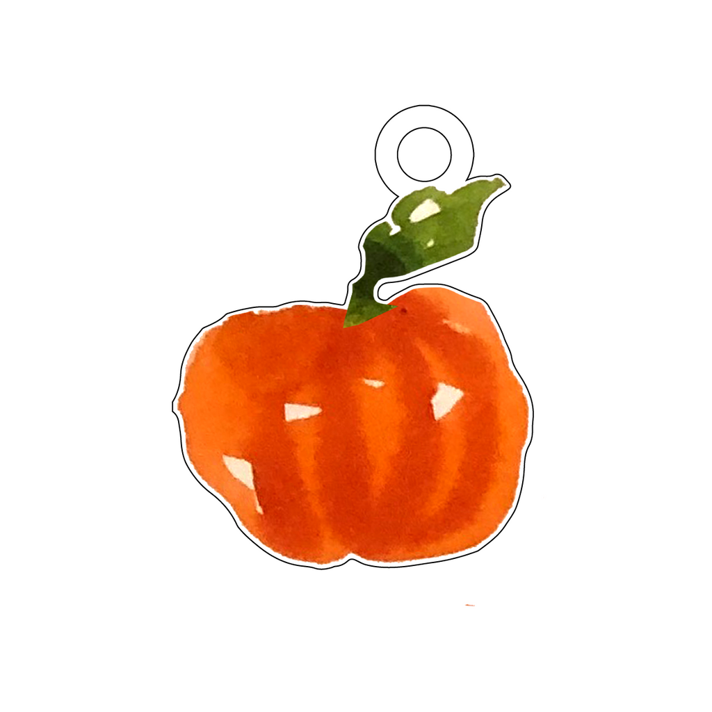 WHIMSY GOURD ACRYLIC GIFT TAG