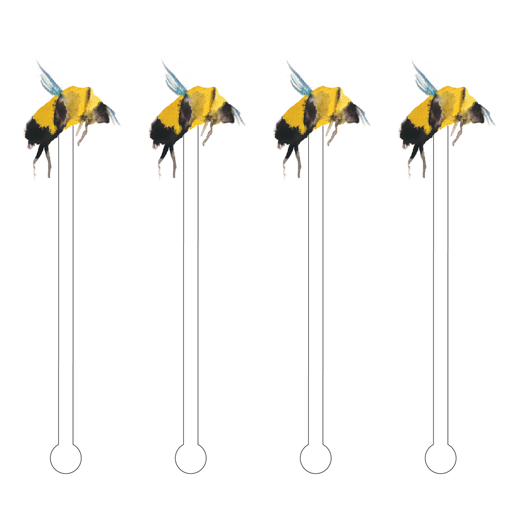 COLONY BEE ACRYLIC STIR STICKS