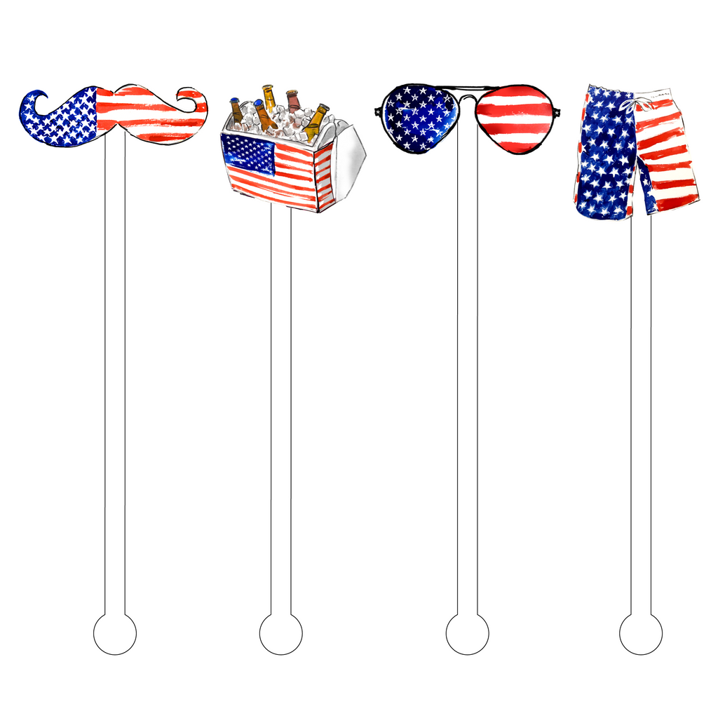 AMERICAN DUDE ACRYLIC STIR STICKS COMBO