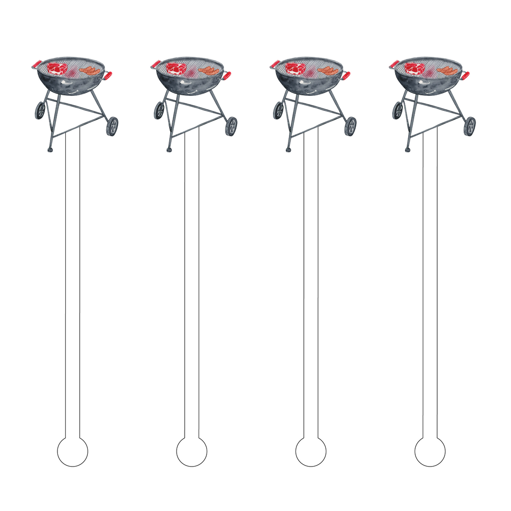 GRILL ACRYLIC STIR STICKS