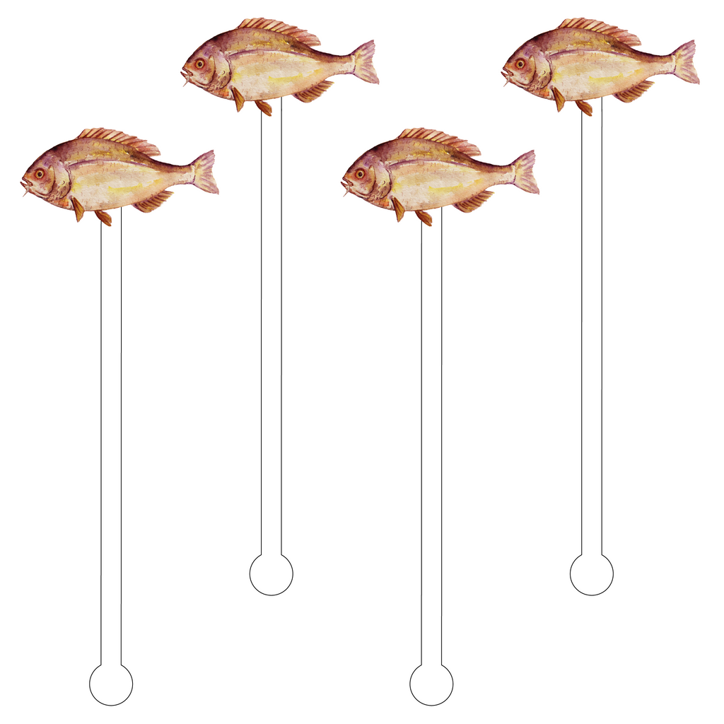 ROCKFISH ACRYLIC STIR STICKS