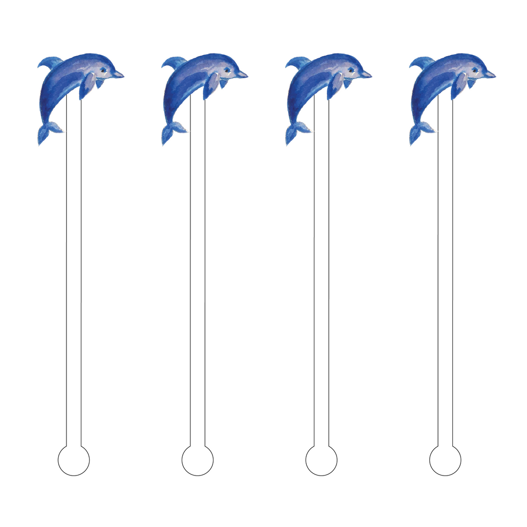 DOLPHIN ACRYLIC STIR STICKS