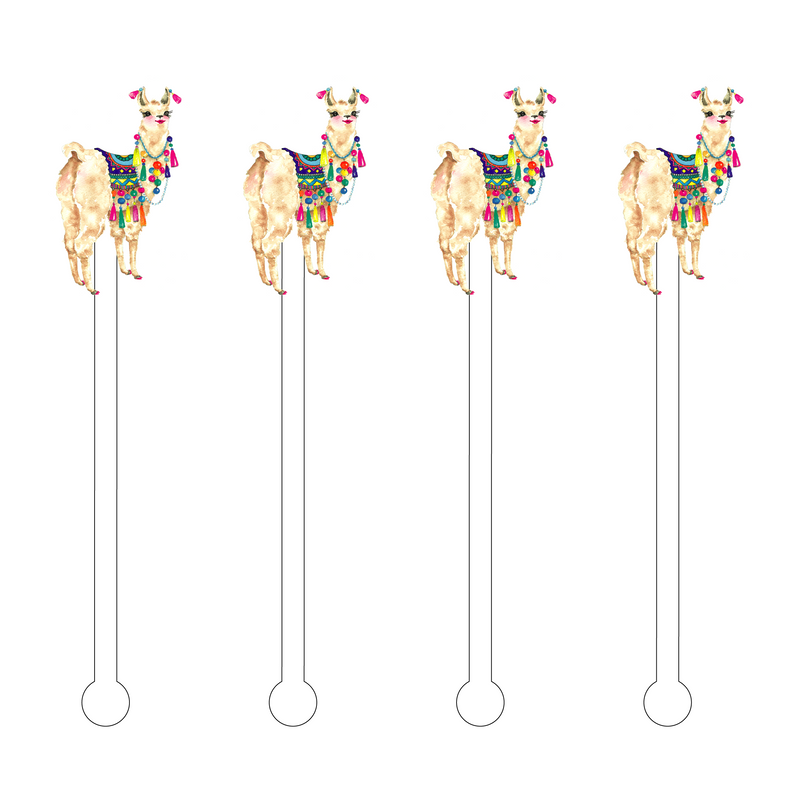 BOLLYLLAMA ACRYLIC STIR STICKS