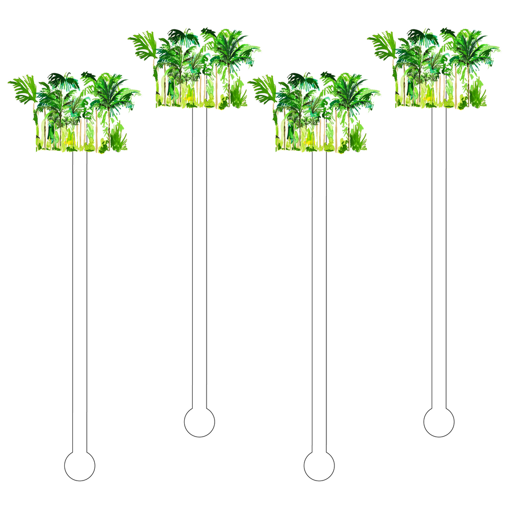 PALMS ACRYLIC STIR STICKS