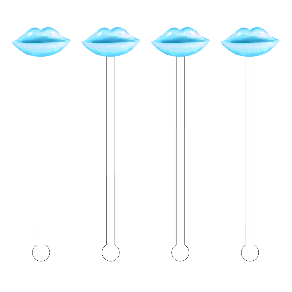 AQUA LIPS ACRYLIC STIR STICKS