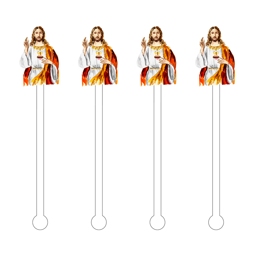 JESUS OF NAZARETH ACRYLIC STIR STICKS