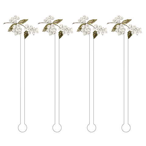 PINE CONE ACRYLIC STIR STICKS