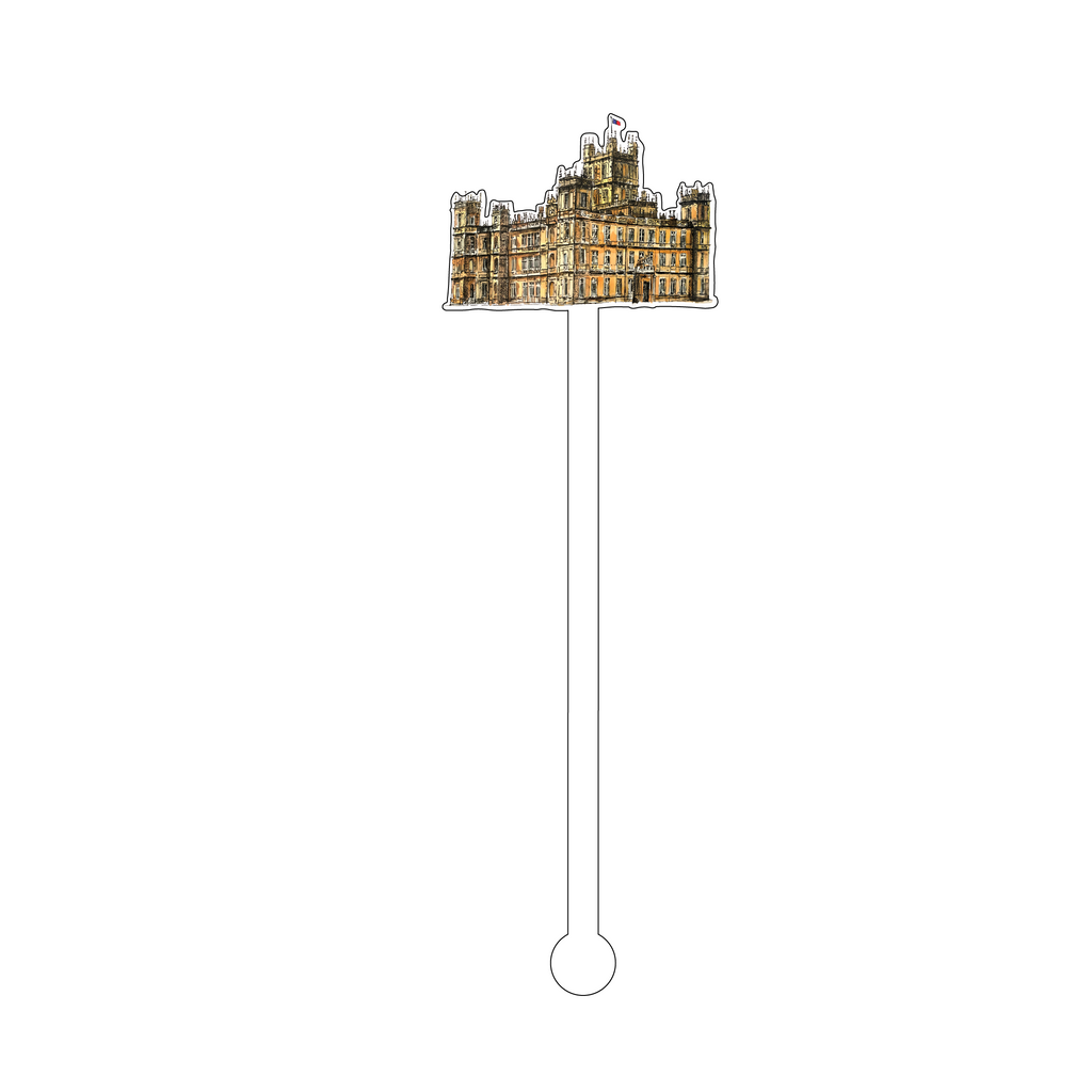 HIGH CLERE CASTLE ACRYLIC STIR STICK
