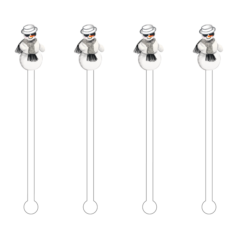SNOWLADY ACRYLIC STIR STICKS