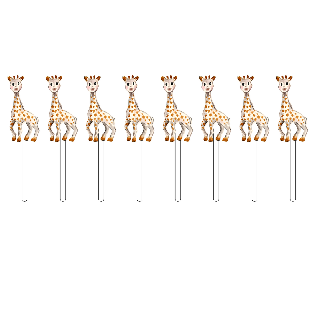 GIRAFFE TEETHER ACRYLIC SWEETIES