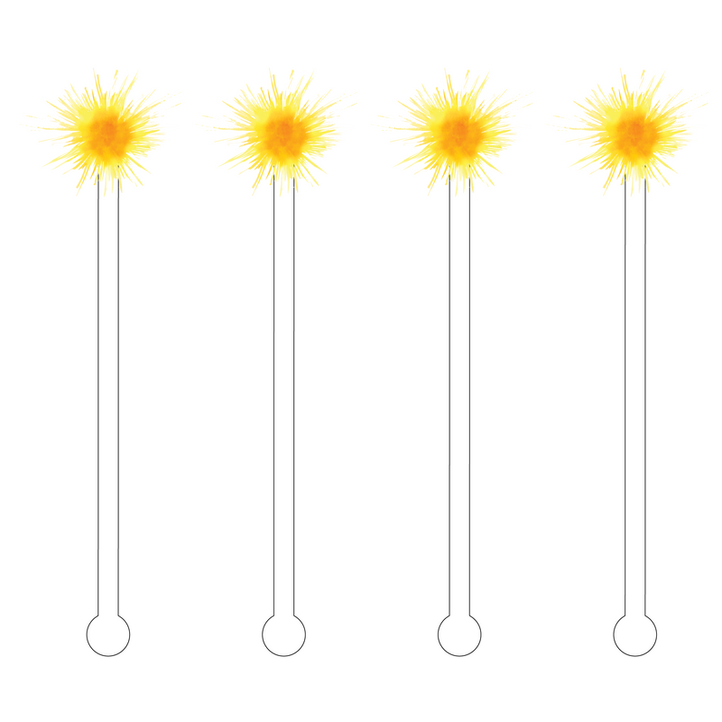 SUN ACRYLIC STIR STICKS