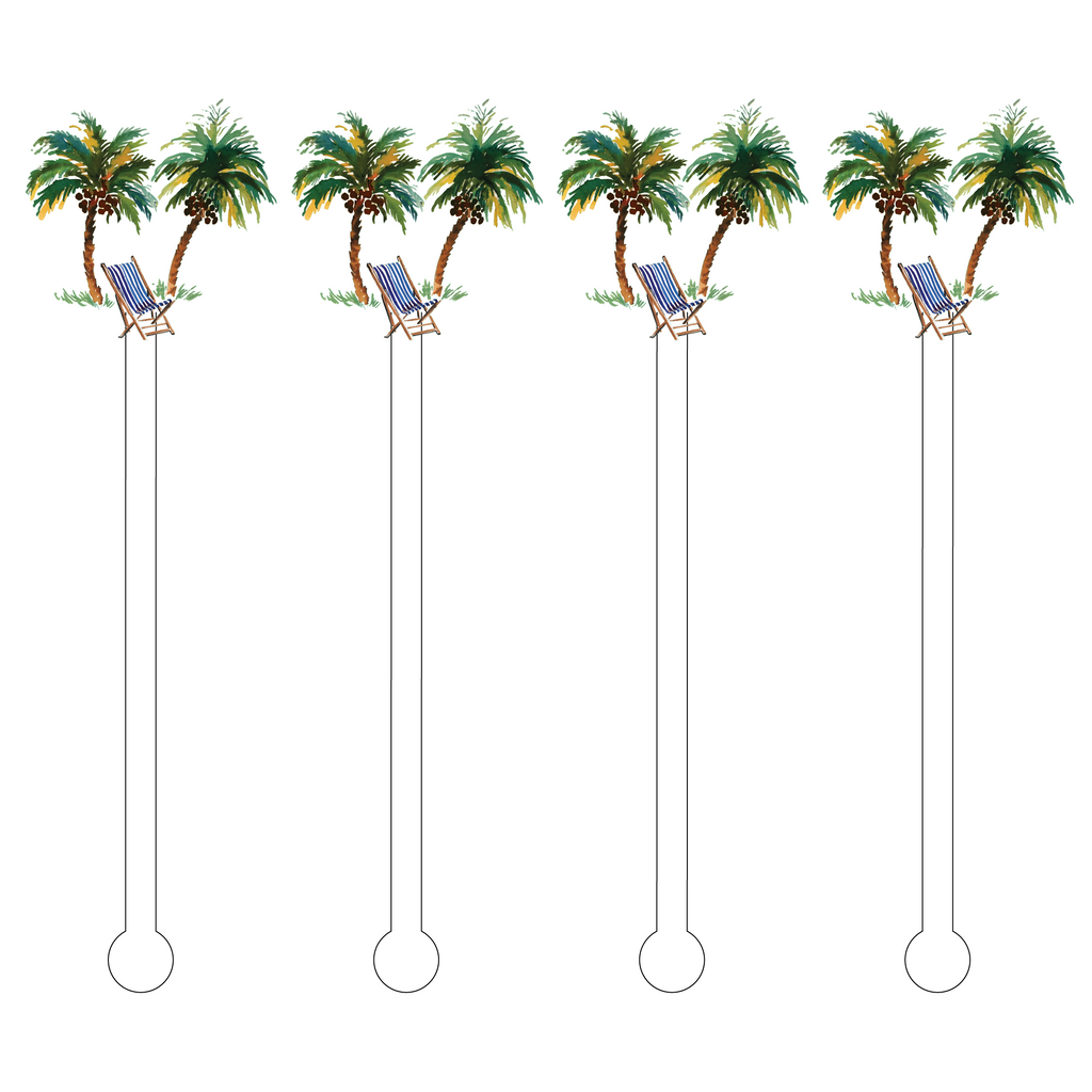 TAKE ME TO THE BEACH ACRYLIC STIR STICKS