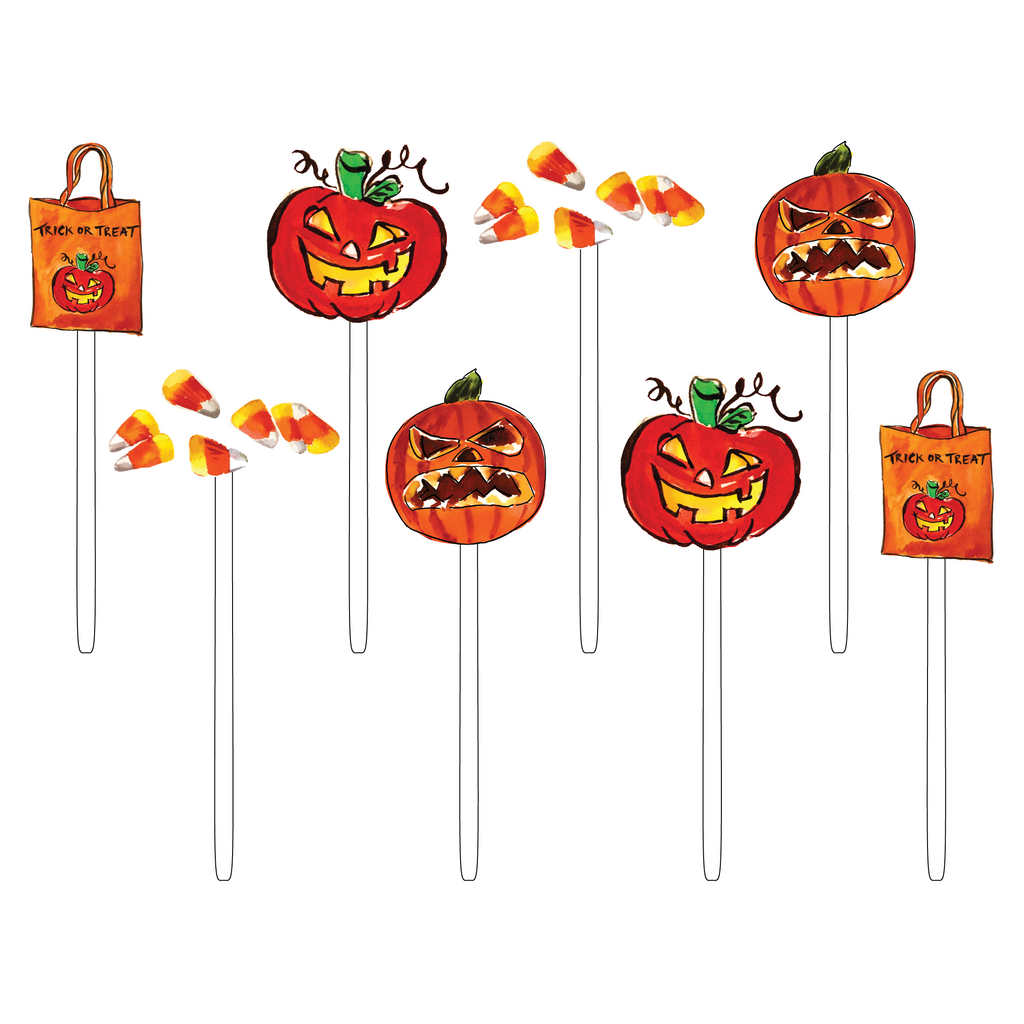 TRICK OR TREAT ACRYLIC SWEETIES COMBO