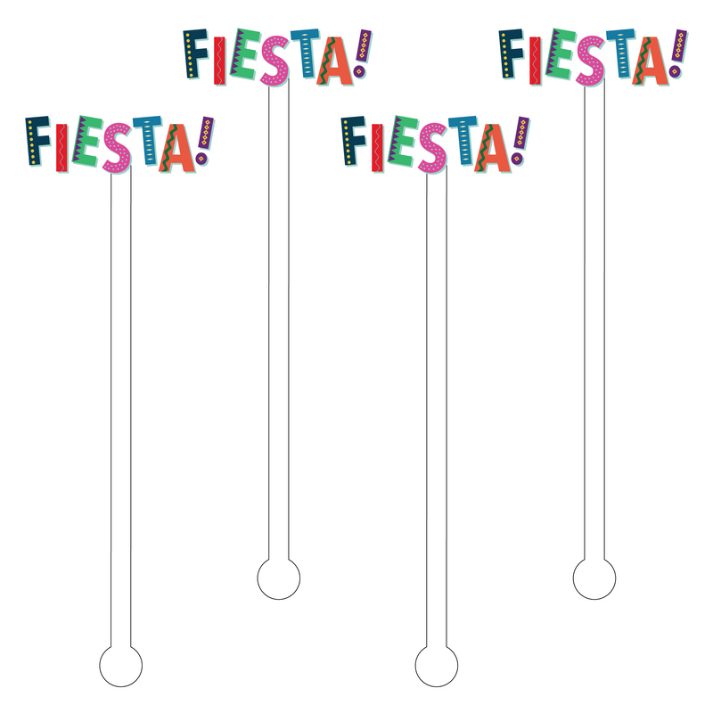 FIESTA ACRYLIC STIR STICKS