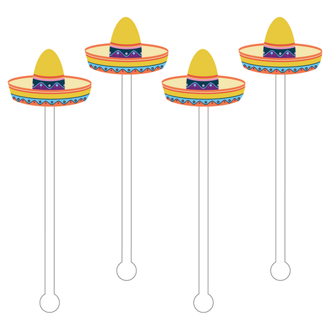 PINATA ACRYLIC STIR STICKS