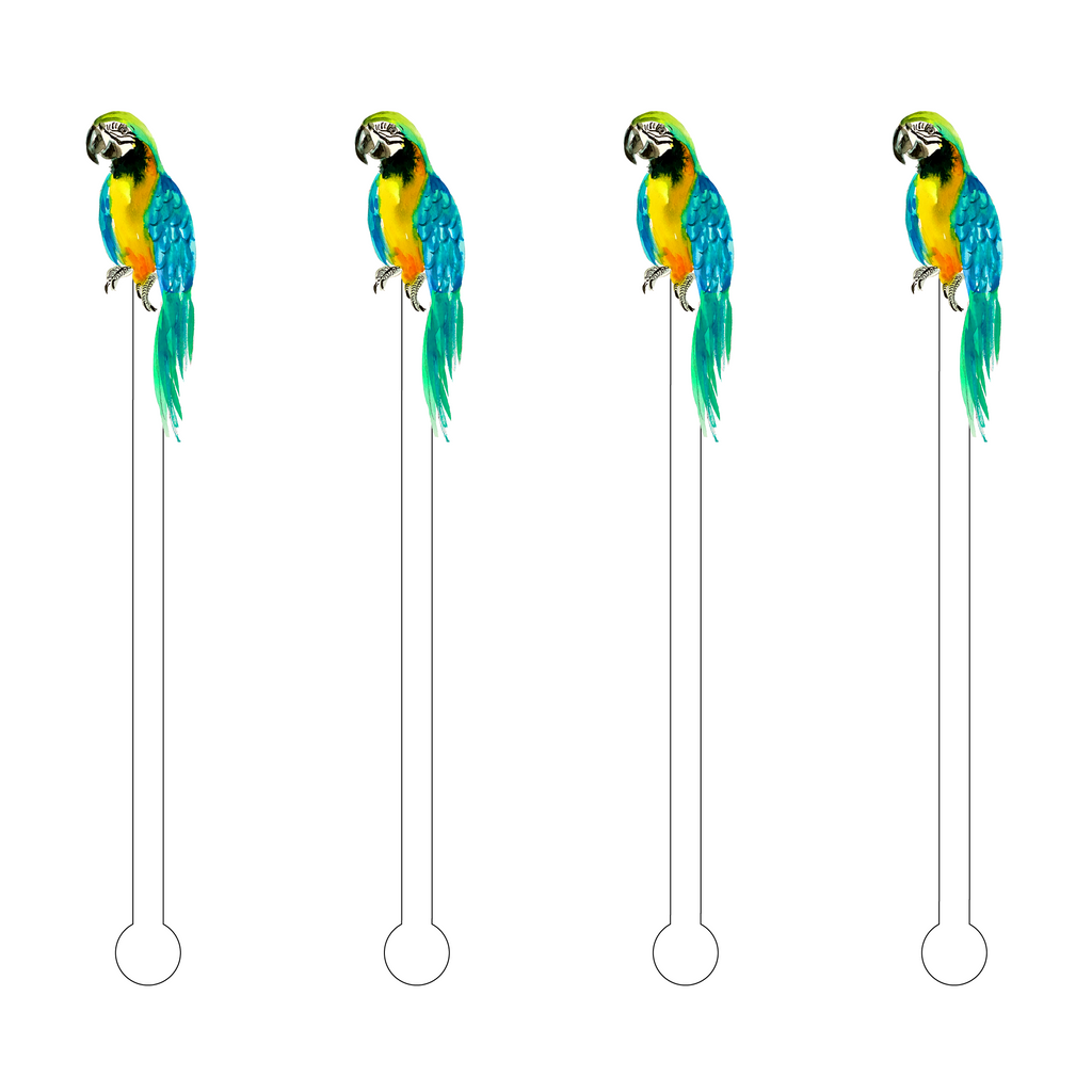 PARROT ACRYLIC STIR STICKS
