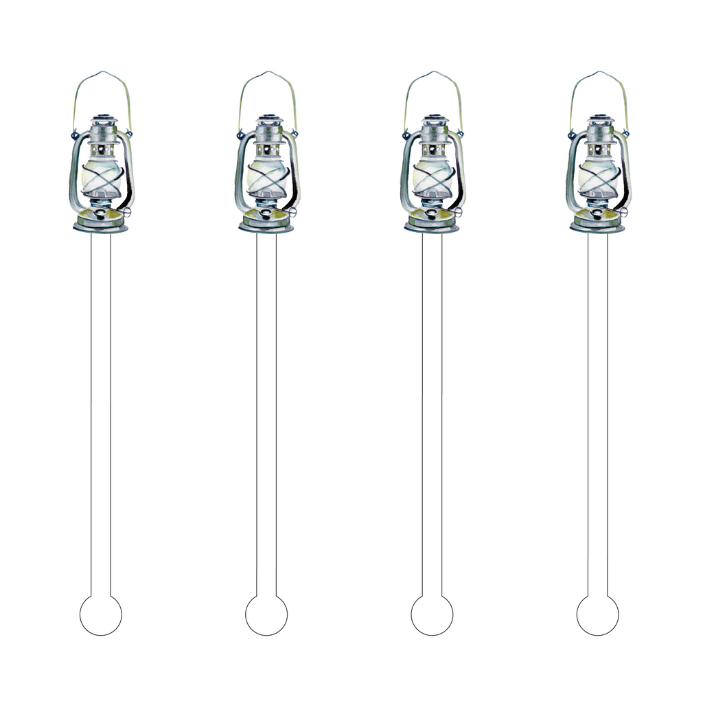 LANTERN ACRYLIC STIR STICKS