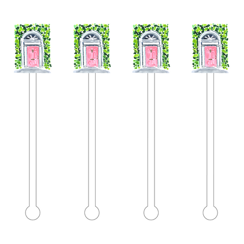 BRIDE BUBBLES ACRYLIC STIR STICKS