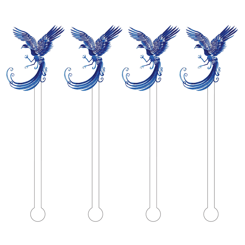 BLUE FALCON ACRYLIC STIR STICKS