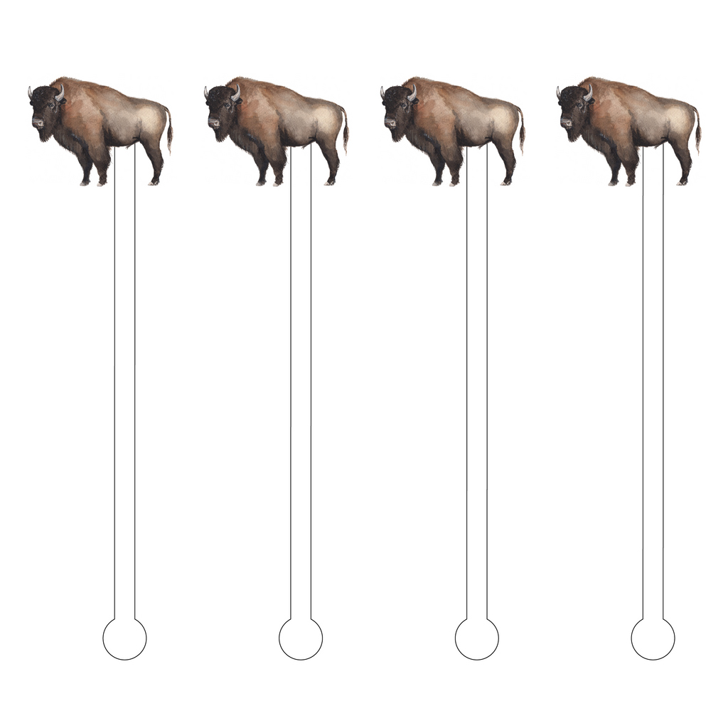 BISON ACRYLIC STIR STICKS*