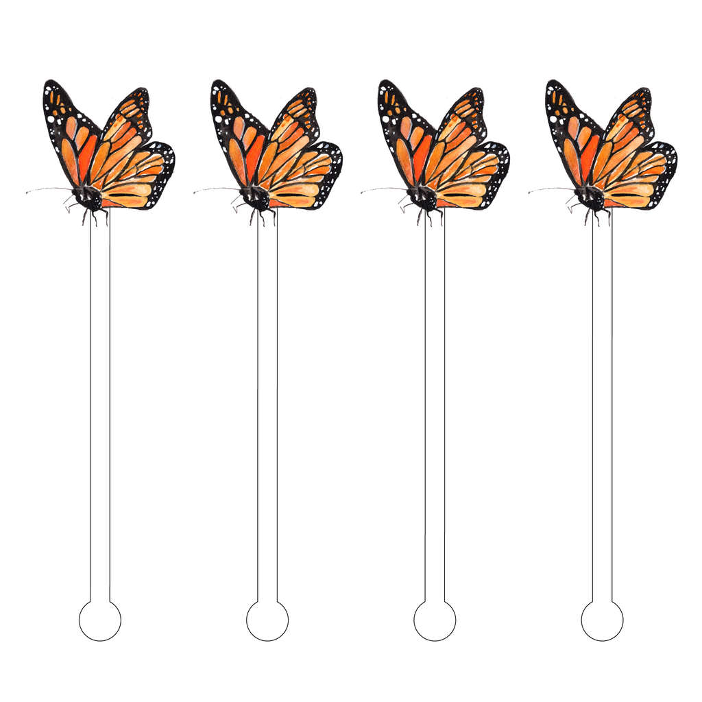 MAGICAL MONARCH ACRYLIC STIR STICKS*
