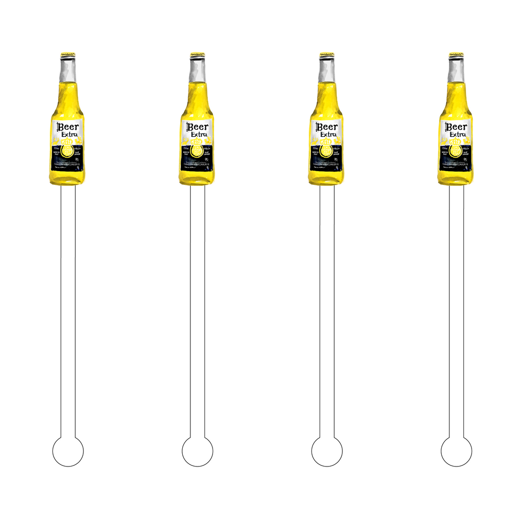 BEER EXTRA ACRYLIC STIR STICKS