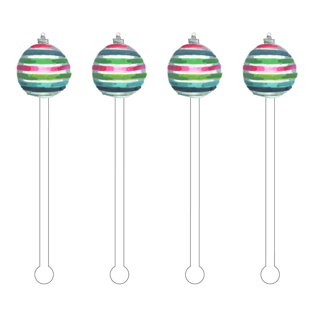 DARLING ORNAMENT ACRYLIC STIR STICKS