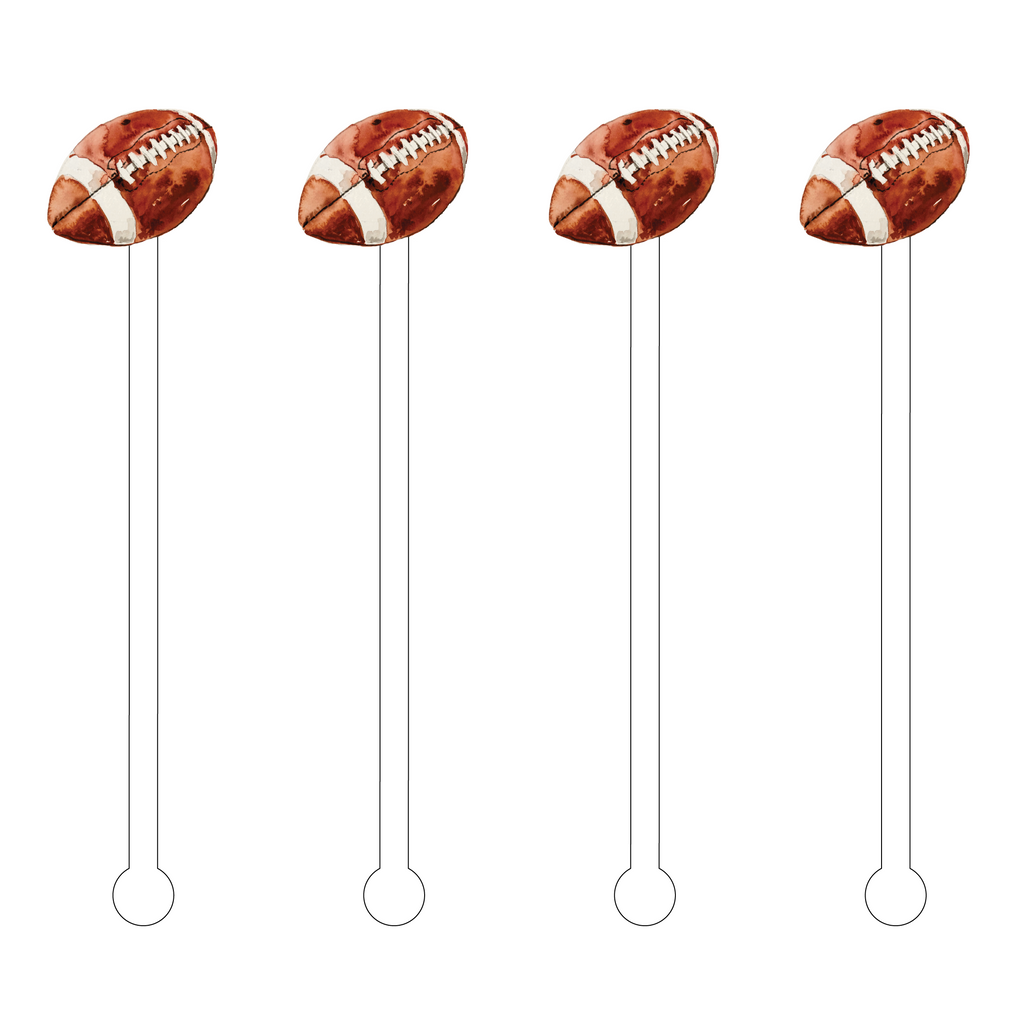ARE YOU READY FOR SOME FOOTBALL ACRYLIC STIR STICKS