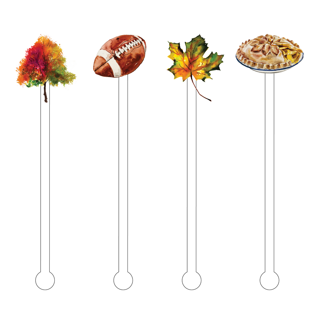 FALL IS IN THE AIR ACRYLIC STIR STICKS COMBO