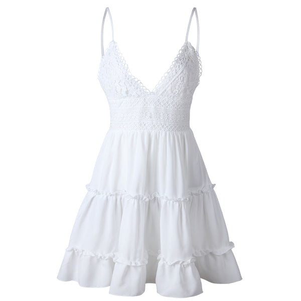 Vineyard Dress (White)