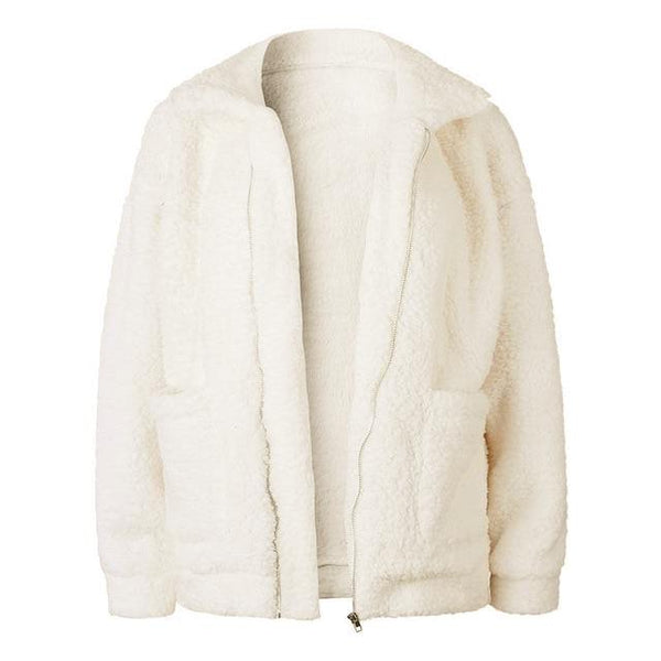 Teddy Bear Jacket (Cream)