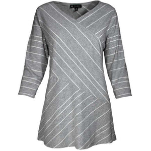 3/4 Sleeve Lennie Stripe Tunic
