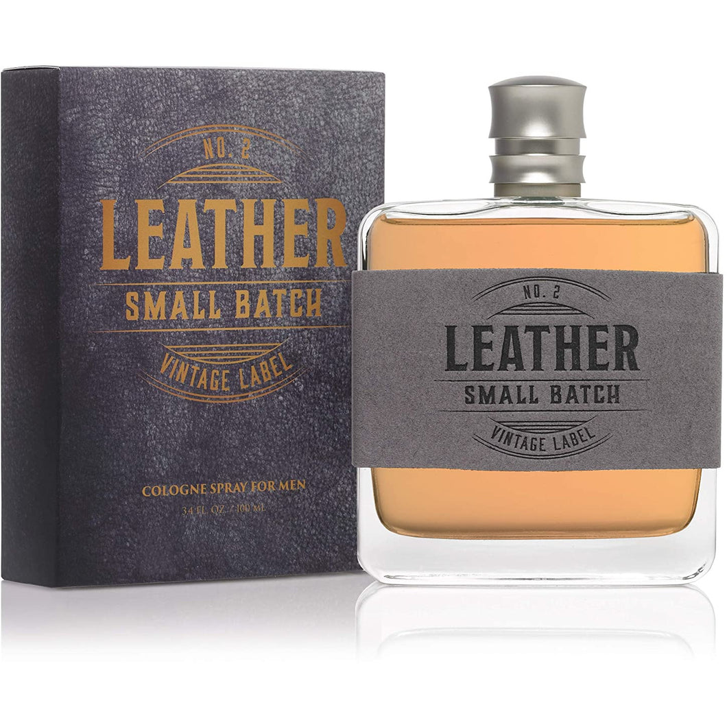 Leather Small Batch Cologne 3.4oz