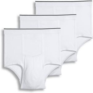 White Pouch Brief - 3 Pack
