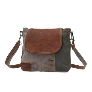 S0769 Flap-Over Shoulder Bag