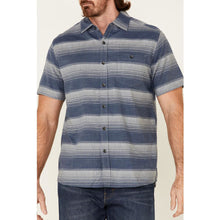 Load image into Gallery viewer, Chambray Horizontal Stripe Cotton Button Up