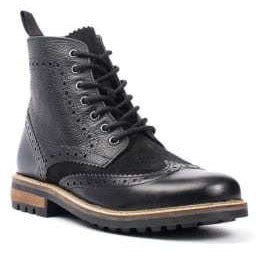 Chandler Black Oxford Boot