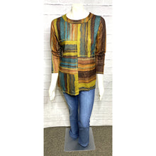Load image into Gallery viewer, Multi Color Cognac Knit